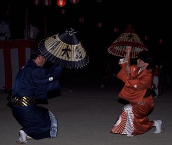 大島の傘踊り保存会(無形民俗文化財)