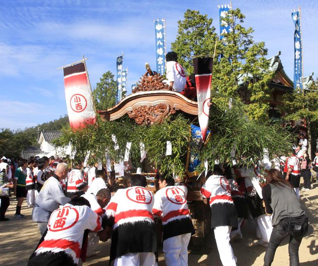 鴻八幡宮祭ばやし保存会 (無形民俗文化財 伝統芸能)
